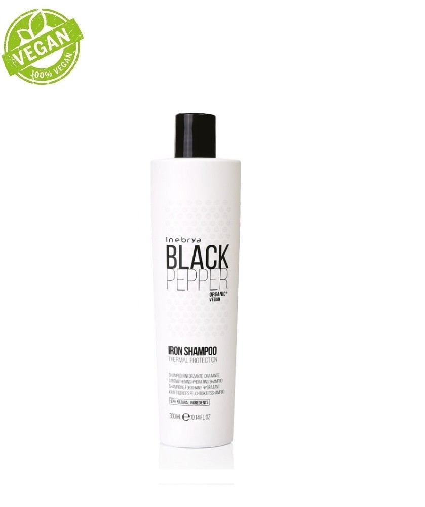 Black Pepper Iron Shampoo 300ml | Inebrya