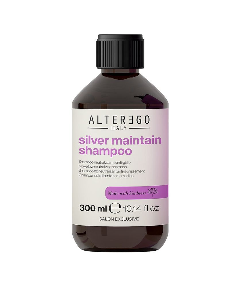 Miracle Color Silver Maintain Shampoo 300ml | Alter Ego Italy