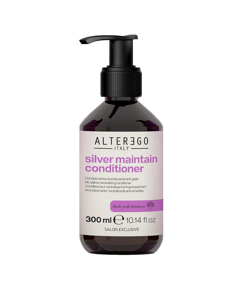 Miracle Color Silver Maintain Conditioner 300ml   Alter Ego Italy